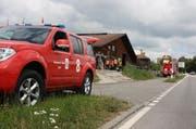 Die Feuerwehr Cham im Einsatz. (Bild Feuerwehr Cham)