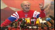 Die wohl berühmteste Wutrede im Fussballgeschäft: Giovanni Trappatoni 1998. (Bild: Screenshot Youtube)