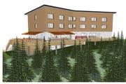 Mittelfristig ist ein neues Ausflugsrestaurant auf Turren geplant. (Bild: PD)