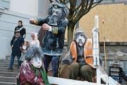Pädagogischer Karnevalsverein mit dem Motto Lost in Frost. (Bild: Hugo Bischof)