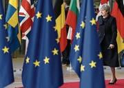 Die britische Premierministerin Theresa May bei einem Besuch in Brüssel. (Bild: Stephanie Lecocq/Keystone (14. Dezember 2017))