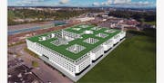 So soll der neue Gewerbepark aussehen. (Bild: Visualisierung PD)