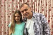 Robert Paljuca und seine elfjährige Tochter Tereza. (Bild: pd)