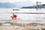 Das Strandbad Lido in Luzern öffnet nur, wenn genügend Gäste zu erwarten sind. (Bild Manuela Jans)