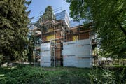Die Villa Toscana, an der Obergrundstrasse 101. Bauzeit 1890-1891, Architekt Heinrich Meili-Wapf, Bauherr Roman Scherer-Huber, liberaler Stadtrat Luzern. (Bild: Pius Amrein (LZ))