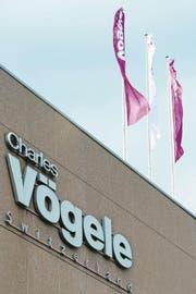 Der Hauptsitz von Charles Vögele beim Seedamm-Center. (Bild: Sigi Tischler/Keystone (Pfäffikon, 6. März 2012))
