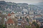 Die Stadt Luzern rechnet nächstes Jahr mit einem Gewinn von rund 7,8 Millionen Franken. (Symbolbild Pius Amrein)