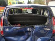 Auffahrunfall in Schattdorf. (Bild: Urner Polizei)