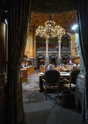 Blick in den Ständeratssaal an der diesjährigen Herbstsession. (Bild: Keystone/Alessandro della Valle)