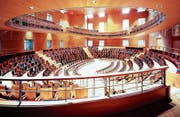 Inspiriert durch Boulez' Idee eines modulablen Konzertsaals: der im März eröffnete Pierre-Boulez-Saal in Berlin. (Bild: PD/Volker Kreidler)