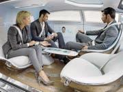 Arbeitsplatz Auto: Die Vision einer künftigen Form der Fortbewegung. (Bild: PD)