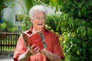 Josef Röösli (83) hat mehr als 4000 Mundart-Wörter aus dem Entlebuch gesammelt. Nun hat er ein Buch mit den Ausdrücken veröffentlicht. (Bild Eveline Beerkircher)