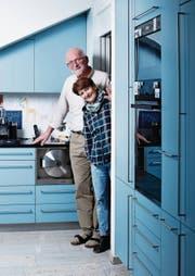 Werner Gerber und seine Frau Susanne in ihrem Haus in Allenwinden.