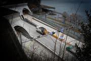 Der Kirchenwaldtunnel im Kanton Nidwalden kostete 446,5 Millionen Franken. (Bild: Archiv Neue LZ (Corinne Glanzmann))