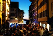 In diesem Jahr durfte man an den Abenden der Jazz Night nur mit Eintrittsbändel in die Zuger Altstadt. (Bild: Patrick Hürlimann / Neue ZZ)