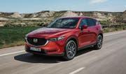 Flott unterwegs mit dem überarbeiteten Mazda CX-5 der zweiten Generation. (Bild: PD)
