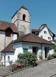 Das ehemalige Waschhaus bei der Liebfrauenkirche ist eines von zwei, die in Zug noch existieren. Heute ist es ein Atelier. (Bild: Stefan Kaiser (19. Juni 2017))