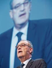 Guy Parmelin muss sein Vorgehen vor der Geschäftsprüfungskommission rechtfertigen. (Bild: Keystone)