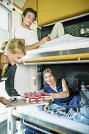 20 Nightjet SBB-Reisemagazin