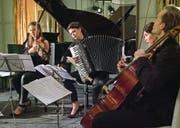 Die Musikerinnen und Musiker überzeugten mit wechselnden Formationen und originellen Arrangements. (Bild: Michael Schmid/Bürgenstock-Festival)