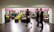 Blick in die Räume der kleinsten Uni der Schweiz: Ab 1. August 2016 wird die Uni Luzern von einem Rektor geführt, der an der grössten Universität lehrte. (Archivbild Manuela Jans)