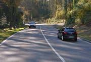 Im Baustellenbereich wird die Blickensdorerstrasse nur einspurig befahrbar sein. (Bild: Google Maps)