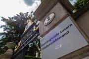 Im Bild ist das Bezirksgericht Luzern. In dem GebŠude ist auch der Friedensrichter untergebracht. (foto: roger gruetter) (Bild: photo:roger gruetter (rogergruetter.com))