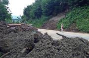 Die Götzentalstrasse zwischen Dierikon und Udligenswil wird während fünf Tagen gesperrt bleiben. (Bild René Meier)