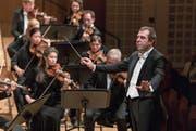 Emotionalität und Tiefe: Daniele Gatti (55) dirigiert das Royal Concertgebouw Orchestra Amsterdam. (Bild: Patrick Hürlimann/Lucerne Festival)