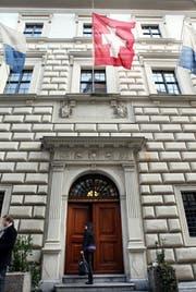 Eingang zum Regierungsgebäude des Kantons Luzern. (Symbolbild: Luzerner Zeitung)