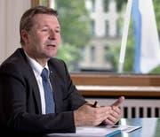 Finanzdirektor Marcel Schwerzmann: «Ich bin erleichtert.» (Bild: Nadia Schärli)