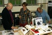 Zum Andenken an den verstorbenen Kulturförderer Martin Wallimann entstand in der Turbine Giswil eine Ausstellung. (Bild: Primus Camenzind / Neue LZ)