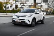Laut Toyota wurde der C-HR spezifisch für die europäischen Kunden konstruiert, die den Verkehr nicht als Problem, sondern als Herausforderung sehen würden. (Bild: PD)