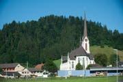 Aussenansicht der Pfarrkirche Escholzmatt (Bild Boris Bürgisser)