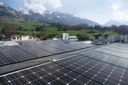 So sieht die neue Photovoltaikanlage der EWO in Kerns aus. (Bild: EWO)