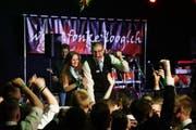 Grosse Freude beim 15. Luzerner Jugendmusikfest in Gunzwil: Die Brassband «BML Talents» feiert gleich zwei Siege. (Bild: Sandro Portmann)
