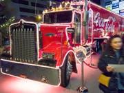 Der Coca-Cola Weihnachtstruck kommt nach Zug. (Archivbild ZZ)