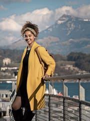 Anja Glover (24) beim Inseli in Luzern.Bild: Pius Amrein (17. März 2017)