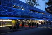 Neue Eingangshalle – weniger Vergünstigung: Blick auf das Verkehrshaus in Luzern. (Bild Boris Bürgisser/Neue LZ)