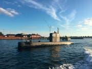 """An Bord des U-Boots """"UC3 Nautilus"""" soll eine Journalistin ums Leben gekommen sein. Der Besitzer spricht von einem Unfall, die Polizei verdächtigt ihn, das Boot absichtlich zum Sinken gebracht zu haben. (Bild: KEYSTONE/EPA SCANPIX DENMARK/ANDERS VALDSTED)"""