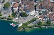 Die Stadt Zug liegt gemäss einem Ranking bezüglich Lebensqualität auf Rang 2. (Bild Stefan Kaiser)