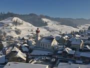 Die Gemeinde Luthern im Winterkleid. (Bild: PD/Gemeinde Luthern)