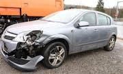 Das zweite am Unfall beteiligte Auto. (Bild: Luzerner Polizei)