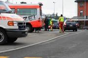 1 von 6589 Straftaten im Kanton Schwyz: Am 17. November stürmt ein Sonderkommando einen Zug im Bahnhof Arth-Goldau, indem sich ein bewaffneter Mann verschwanzt hielt. (Bild: Irene Infanger/Neue SZ)