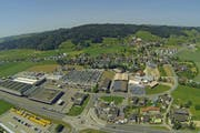 Eine Luftaufnahme der Gemeinde Altishofen. (Bild: René Meier / Luzernerzeitung.ch)