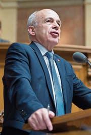 Finanzminister Ueli Maurer. (Bild: Anthony Anex/KEY (Bern, 13. Dezember 2017))