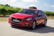 Mit der neuen Diesel-Motorisierung ist der Mazda3 flink unterwegs. Erstmals bietet Mazda in einem so kleinen Motor auch ein Automatikgetriebe. (Bild: PD)
