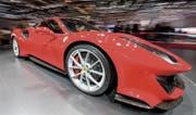 Der neue Ferrari 488 Pista: ein strassenzugelassener Rennwagen mit 720 PS Leistung. (Bild: KEY)