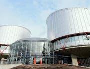 Der Europäische Gerichtshof für Menschenrechte in Strassburg. (Bild: Keystone/Jean-Christophe Bott)