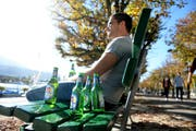 Soll im Kanton Luzern nicht verboten werden: Alkohol im öffentlichen Raum. (Bild: Neue LZ / Nadia Schärli)